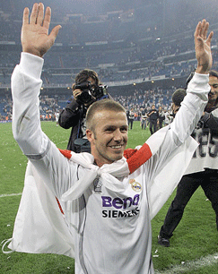 Becks at Real.