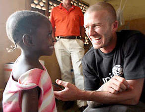Becks with UNICEF.