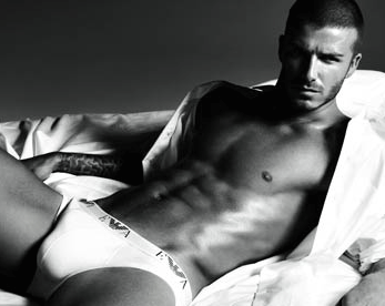 Becks in his pants.
